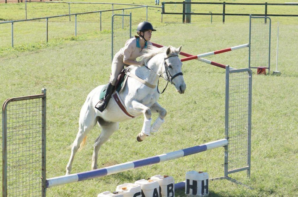 Lucinda Jumping