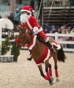santa-riding
